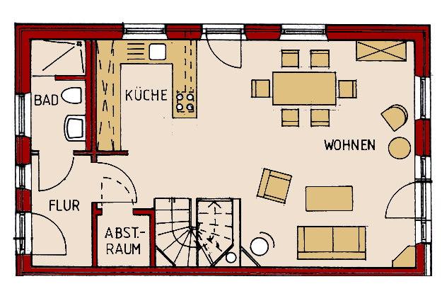Ferienhaus Bi De S 252 D 21a Nieblum F 246 Hr R 228 Umlichkeiten